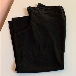 Lane Bryant Black Trousers